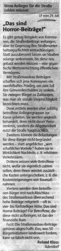 """""""Das sind Horror-Beiträge!"""""""