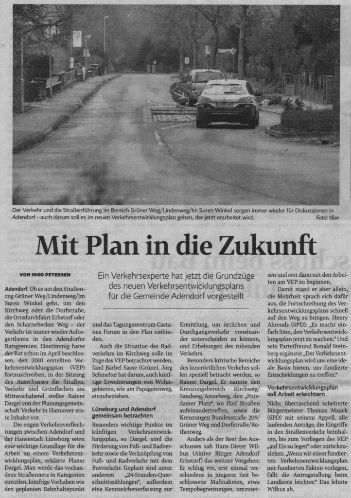 Mit Plan in die Zukunft