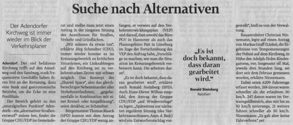 Suche nach Alternativen