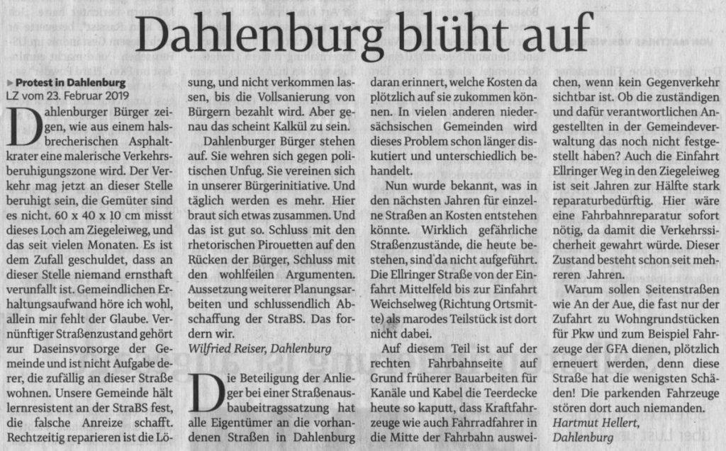 Dahlenburg blüht auf