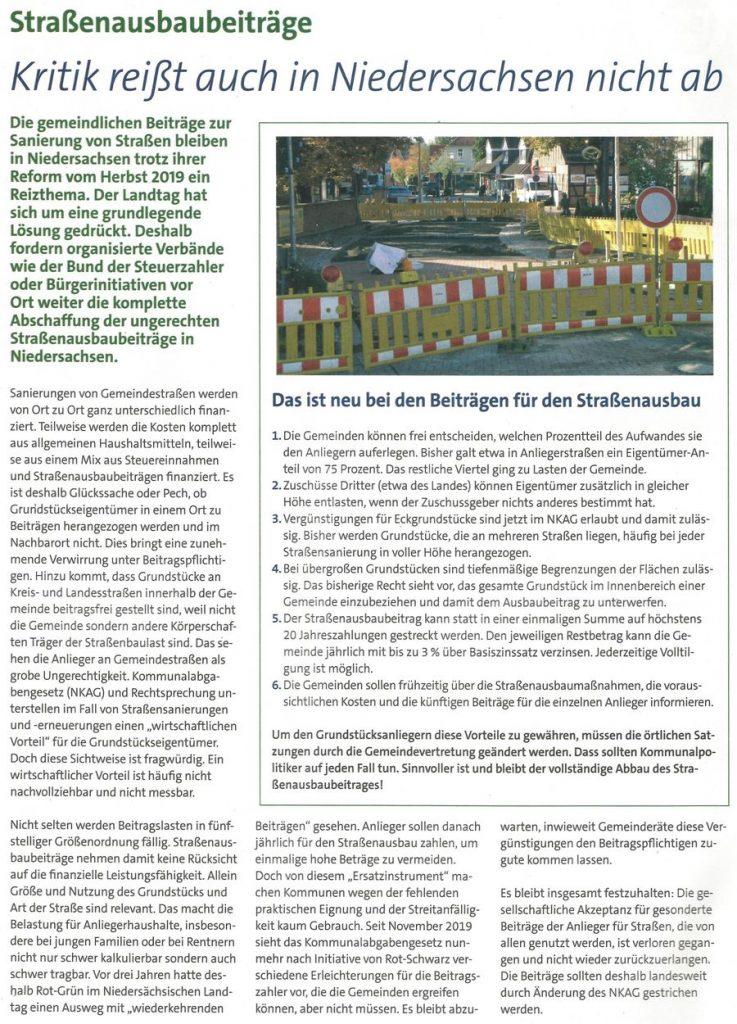 Kritik reißt auch in Niedersachsen nicht ab