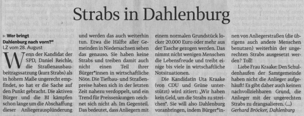 Strabs in Dahlenburg